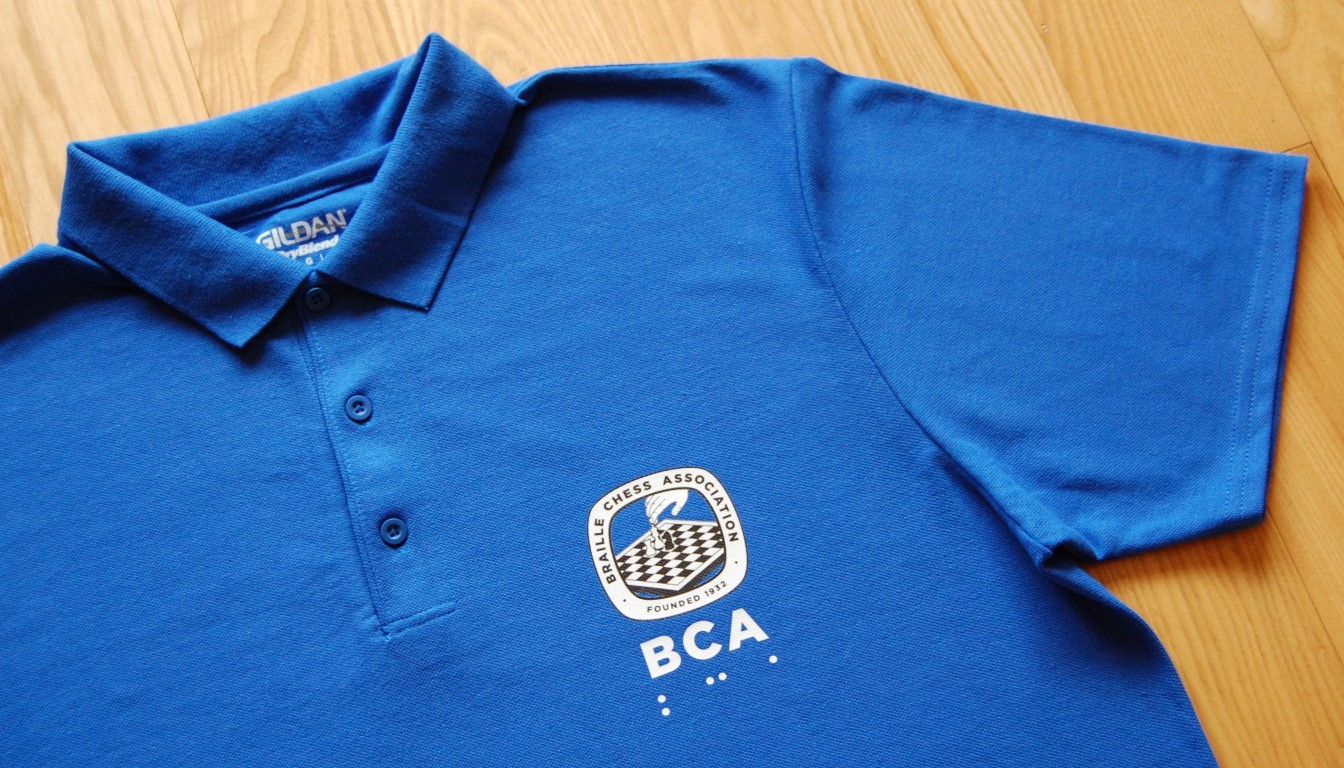 BCA polo shirt