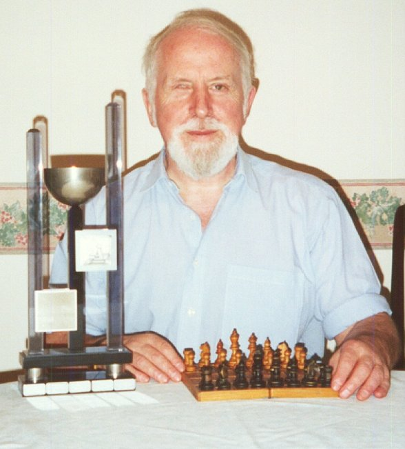 Photography of the winner from Men Championship 2001